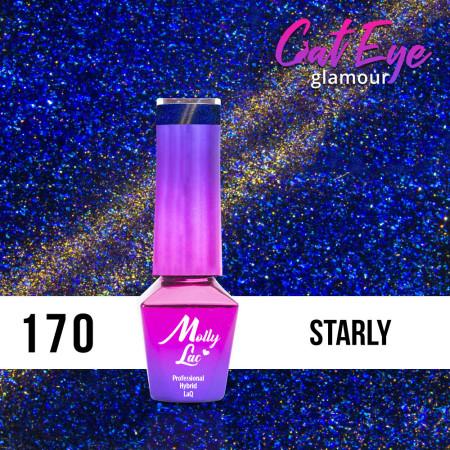 170. MOLLY LAC gél lak - Cat Eye Glamour Starly 5ml