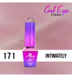 171. MOLLY LAC gél lak - Cat Eye Cream Intimately 5ml