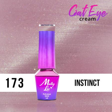 173. MOLLY LAC gél lak -Cat Eye Cream Instinct 5ml