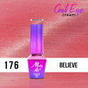 176. MOLLY LAC gél lak -Cat Eye Cream Believe 5ml
