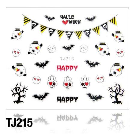 Nálepky na nechty Halloween TJ215 NechtovyRAJ.sk - Daj svojim nechtom všetko, čo potrebujú