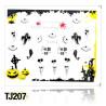 Nálepky na nechty Halloween TJ207 NechtovyRAJ.sk - Daj svojim nechtom všetko, čo potrebujú