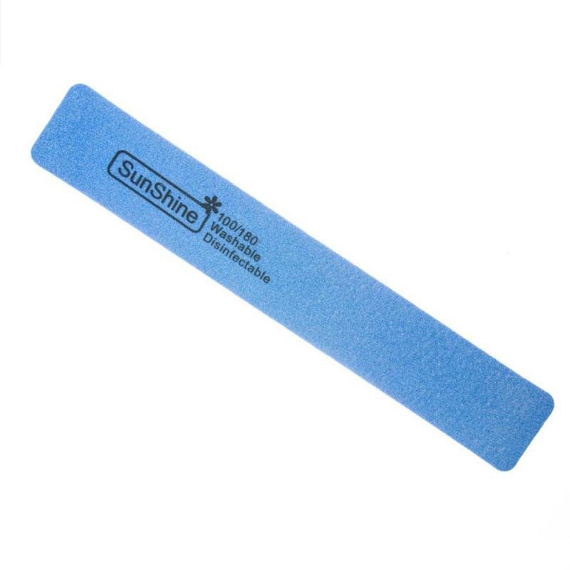 Pilník hranatý penový modrý 100/180 NechtovyRAJ.sk - Daj svojim nechtom všetko, čo potrebujú