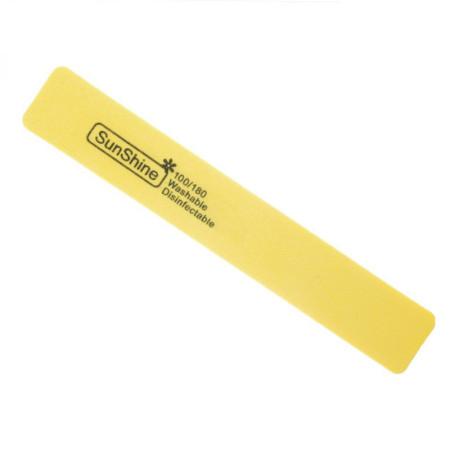Pilník hranatý penový žltý 100/180