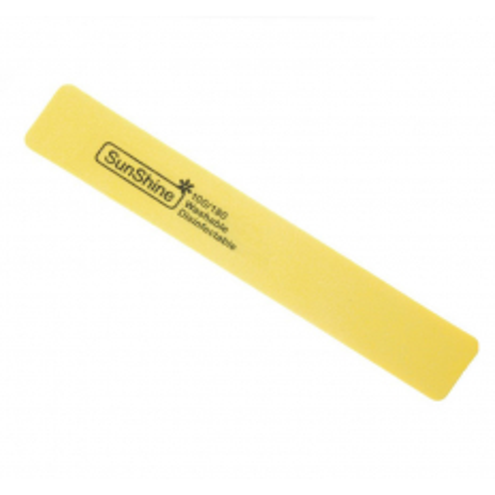 Pilník hranatý penový žltý 100/180 NechtovyRAJ.sk - Daj svojim nechtom všetko, čo potrebujú