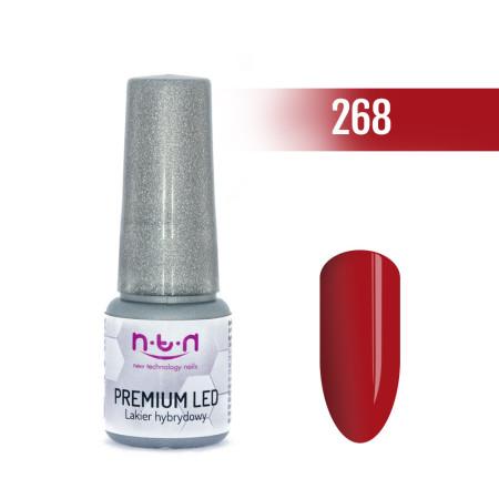 NTN Premium Led gél lak 268 6ml NechtovyRAJ.sk - Daj svojim nechtom všetko, čo potrebujú