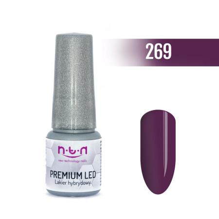NTN Premium Led gél lak 269 6ml NechtovyRAJ.sk - Daj svojim nechtom všetko, čo potrebujú