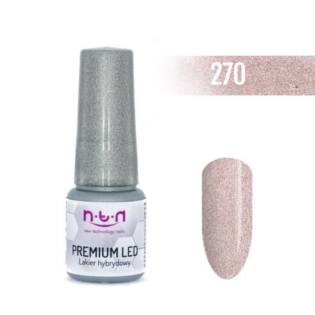 NTN Premium Led gél lak 270 6ml NechtovyRAJ.sk - Daj svojim nechtom všetko, čo potrebujú