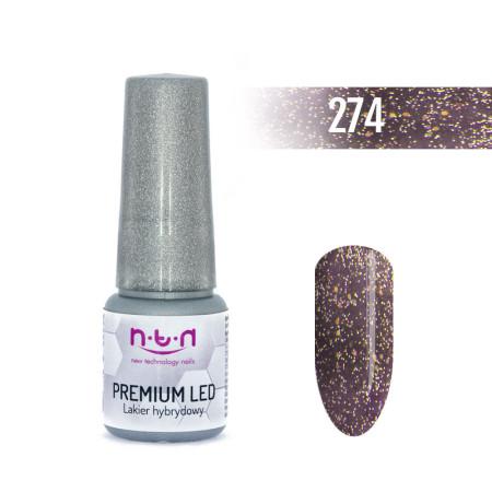 NTN Premium Led gél lak 274 6ml NechtovyRAJ.sk - Daj svojim nechtom všetko, čo potrebujú