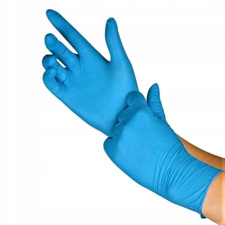 Ogrifox nitrilové rukavice modré 100ks veľkosť M NechtovyRAJ.sk - Daj svojim nechtom všetko, čo potrebujú