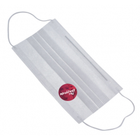 Ochranné kozmetické rúško -biele 50 ks