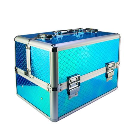 Kozmetický kufrík Unicorn modrý 602-3 NechtovyRAJ.sk - Daj svojim nechtom všetko, čo potrebujú