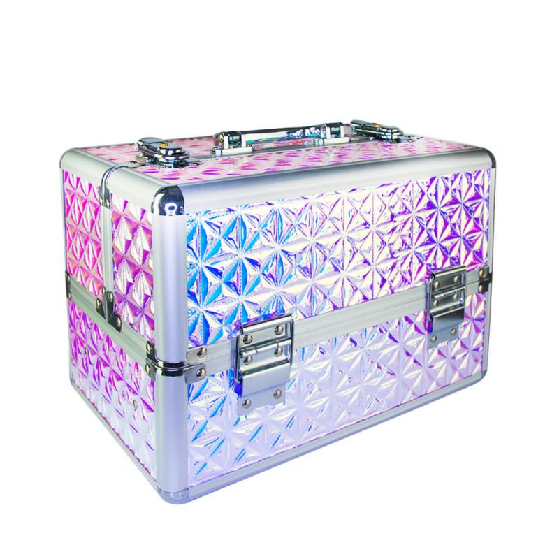 Kozmetický kufrík Unicorn ružový 601-4 NechtovyRAJ.sk - Daj svojim nechtom všetko, čo potrebujú