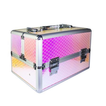 Kozmetický kufrík Unicorn ružový 602-7