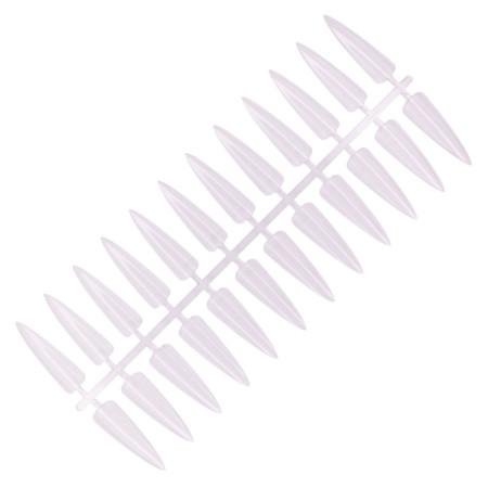 NechtovyRAJ vzorkovník priesvitný špicatý 240 ks NechtovyRAJ.sk - Daj svojim nechtom všetko, čo potrebujú