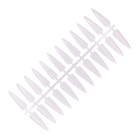NechtovyRAJ vzorkovník priesvitný špicatý 24 ks NechtovyRAJ.sk - Daj svojim nechtom všetko, čo potrebujú