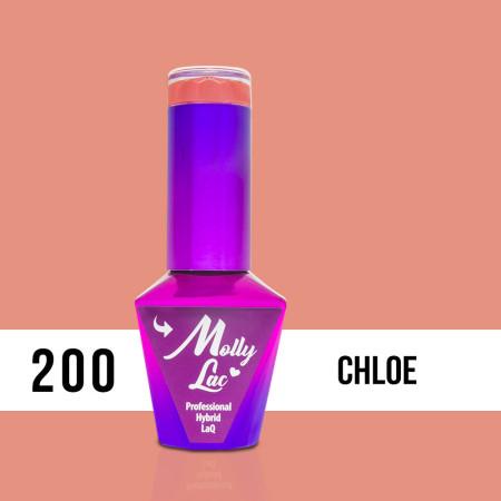 200. MOLLY LAC gél lak - Chloe 5ml