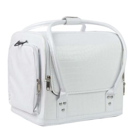 Luxusný kozmetický kufrík - biely 07 NechtovyRAJ.sk - Daj svojim nechtom všetko, čo potrebujú