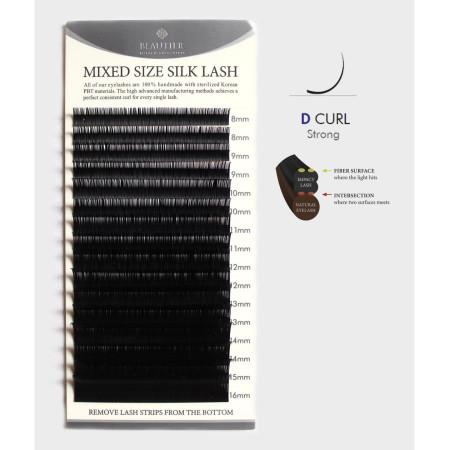 Hodvábne norkové PS riasy D 0,10 MIX dĺžok 8-16 mm NechtovyRAJ.sk - Daj svojim nechtom všetko, čo potrebujú