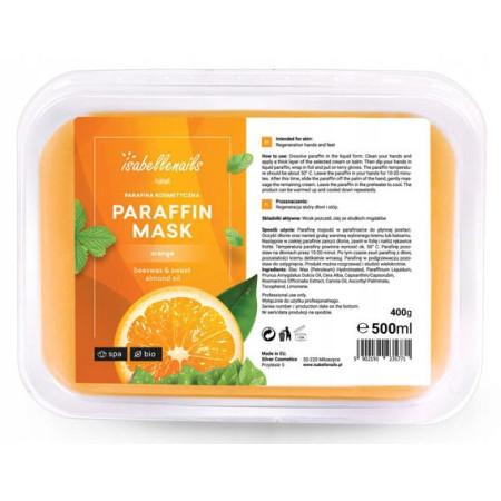 Isabellenails kozmetický parafín pomaranč 500 ml NechtovyRAJ.sk - Daj svojim nechtom všetko, čo potrebujú