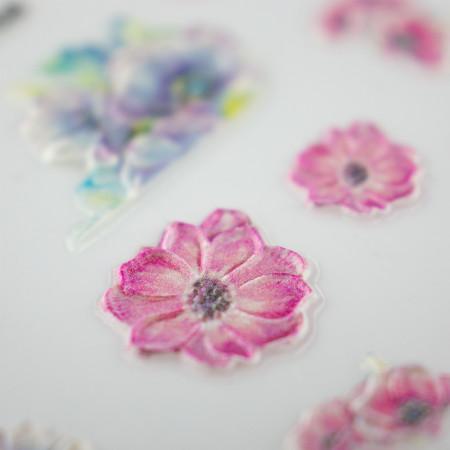 5D nálepka na nechty 568 - kvety NechtovyRAJ.sk - Daj svojim nechtom všetko, čo potrebujú