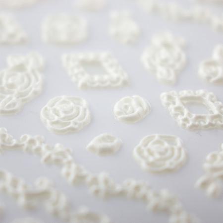 5D nálepka na nechty 31 - kvety NechtovyRAJ.sk - Daj svojim nechtom všetko, čo potrebujú