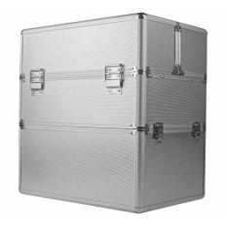 Dvojdielny kozmetický kufrík - strieborný M-3N NechtovyRAJ.sk - Daj svojim nechtom všetko, čo potrebujú