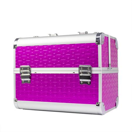 Kozmetický kufrík na lampu De Luxe K068-43 fuchsia NechtovyRAJ.sk - Daj svojim nechtom všetko, čo potrebujú