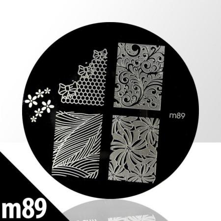 Doštička na pečiatkovanie M89 NechtovyRAJ.sk - Daj svojim nechtom všetko, čo potrebujú