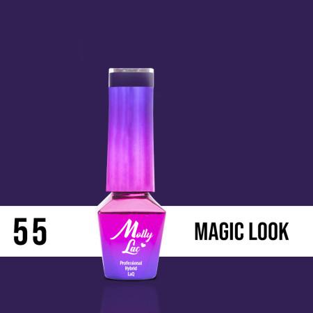 55. MOLLY LAC gél lak - Magic Look 5ML