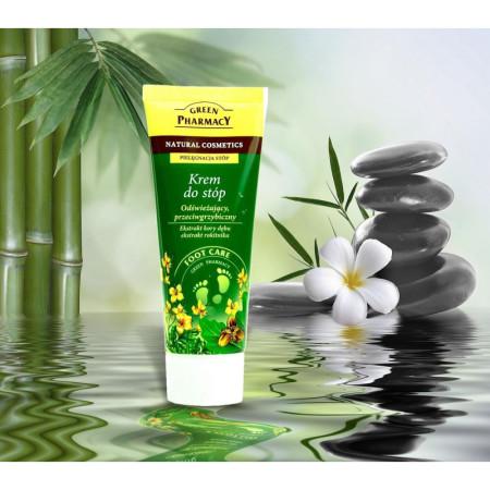 Green Pharmacy osviežujúci protiplesňový krém na nohy 100 ml NechtovyRAJ.sk - Daj svojim nechtom všetko, čo potrebujú