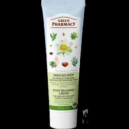Green Pharmacy relaxačný krém na nohy 100ml NechtovyRAJ.sk - Daj svojim nechtom všetko, čo potrebujú