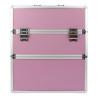 Dvojdielny kozmetický kufrík - ružový M-3N NechtovyRAJ.sk - Daj svojim nechtom všetko, čo potrebujú