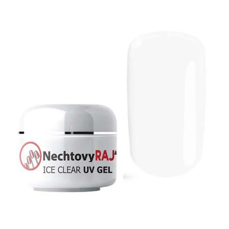 NechtovyRAJ uv gél ice clear 50g - pre citlivé nechty