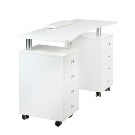 Stôl na manikúru BD-3425 biely NechtovyRAJ.sk - Daj svojim nechtom všetko, čo potrebujú