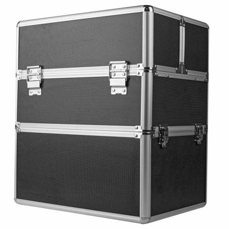 Dvojdielny kozmetický kufrík - čierny M-3N NechtovyRAJ.sk - Daj svojim nechtom všetko, čo potrebujú