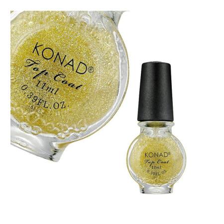 Špeciálny vrchný lak Konad Glitter Gold 11ml NechtovyRAJ.sk - Daj svojim nechtom všetko, čo potrebujú