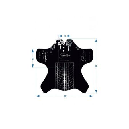 Semilac šablóny hardi wide čierne 100 ks NechtovyRAJ.sk - Daj svojim nechtom všetko, čo potrebujú