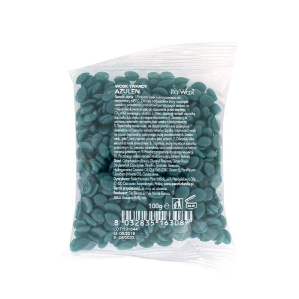 ItalWax filmwax - zrniečka vosku azulén 100g
