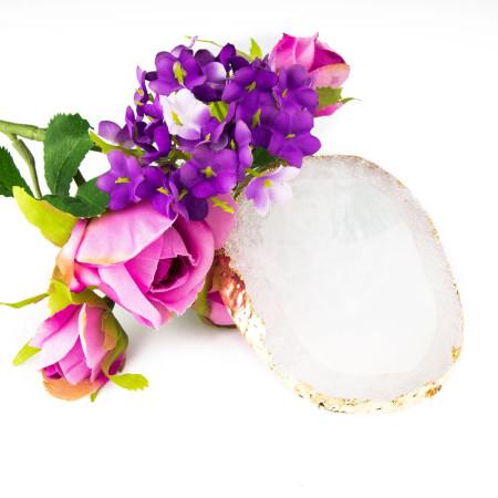 Podložka na miešanie gélov a prezentáciu okrúhla biela NechtovyRAJ.sk - Daj svojim nechtom všetko, čo potrebujú