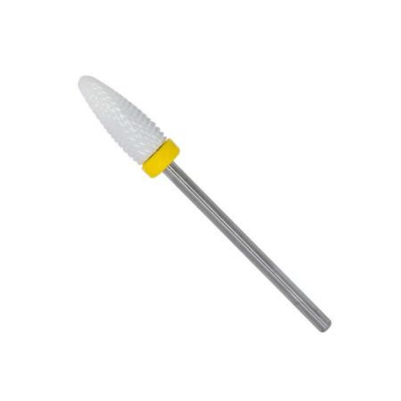 Keramický nádstavec kužeľ veľký žltý XF NechtovyRAJ.sk - Daj svojim nechtom všetko, čo potrebujú
