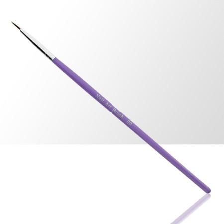 Štetec na zdobenie fialový 00 8 mm NechtovyRAJ.sk - Daj svojim nechtom všetko, čo potrebujú