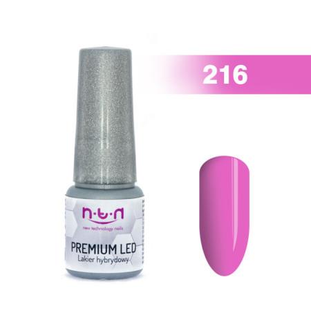 NTN Premium Led gél lak 216 6ml NechtovyRAJ.sk - Daj svojim nechtom všetko, čo potrebujú