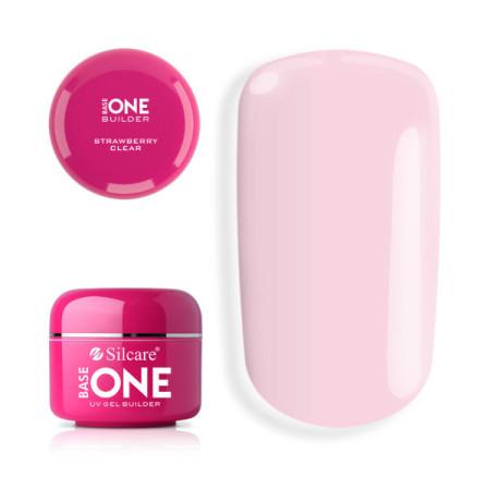 Base one UV gél Clear 30g - Strawberry clear NechtovyRAJ.sk - Daj svojim nechtom všetko, čo potrebujú