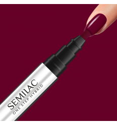 Semilac One Step gél lak S580 Crimson