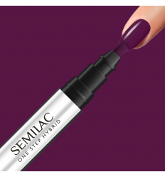 Semilac One Step gél lak S780 Plum Wine