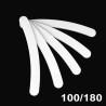 Pilník biely zaoblený 100/180 NechtovyRAJ.sk - Daj svojim nechtom všetko, čo potrebujú