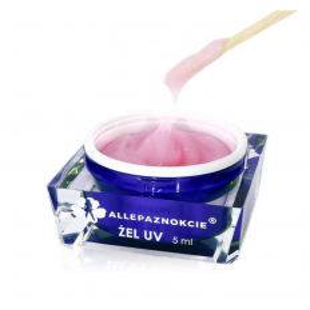 Stavebný uv gél Jelly Milky Pink 5 ml
