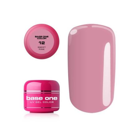 Base one gél č.12 Sweet pink 5g NechtovyRAJ.sk - Daj svojim nechtom všetko, čo potrebujú