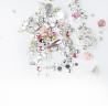 Ozdoby na nechty mix 09 - strieborno ružové NechtovyRAJ.sk - Daj svojim nechtom všetko, čo potrebujú
